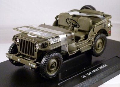 Willys Jeep 1/4 Ton Army Truck WWII