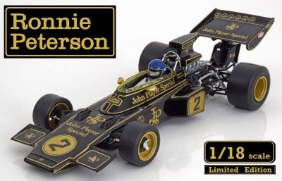 F-1 Lotus 72E, No.2, John Player-Ronnie Peterson 1973