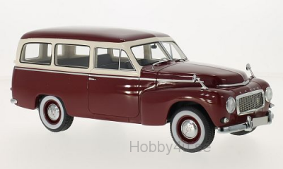 Volvo PV445 duet, dark red/beige, 1956