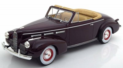 LaSalle Series 50 Convertible Coupe Mörkröd 1940